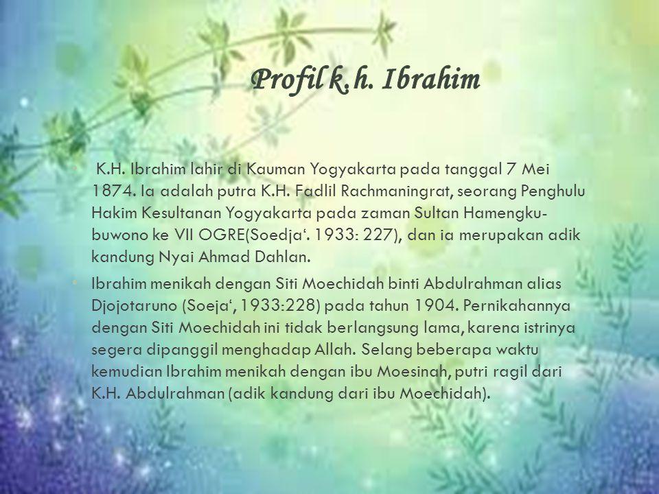 Profil k.h. Ibrahim