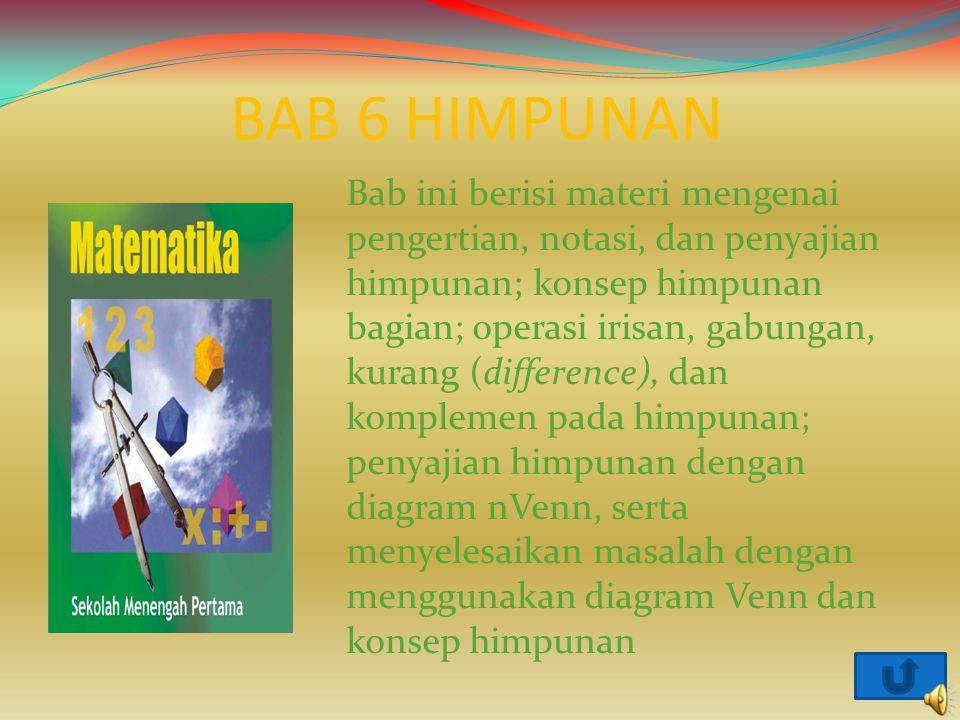 BAB 6 HIMPUNAN
