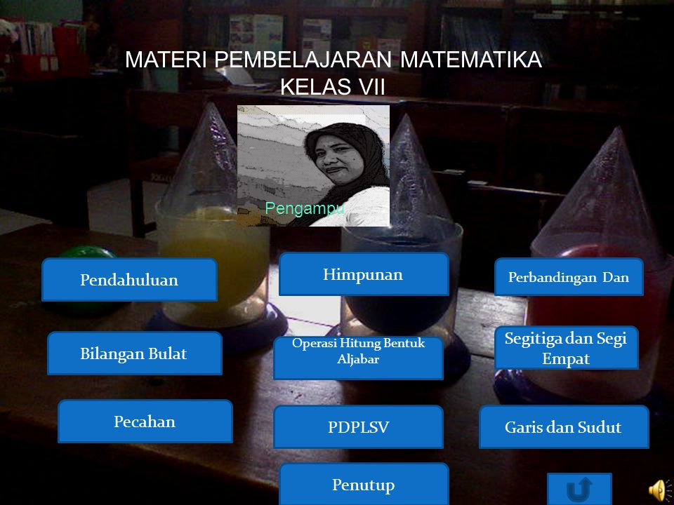 MATERI PEMBELAJARAN MATEMATIKA KELAS VII