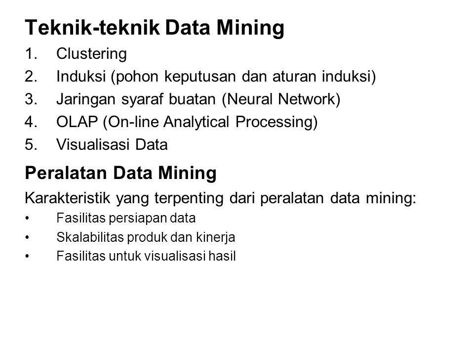 Teknik-teknik Data Mining