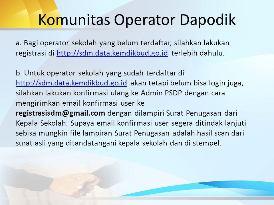 Komunitas Operator Dapodik