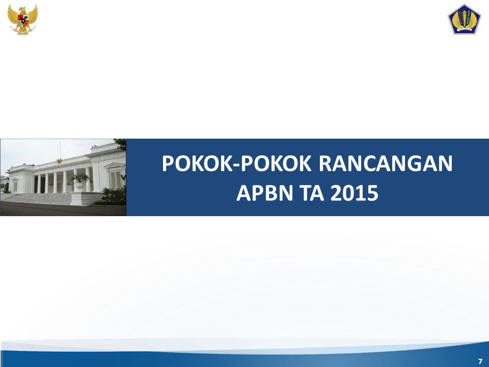 POKOK-POKOK RANCANGAN APBN TA 2015