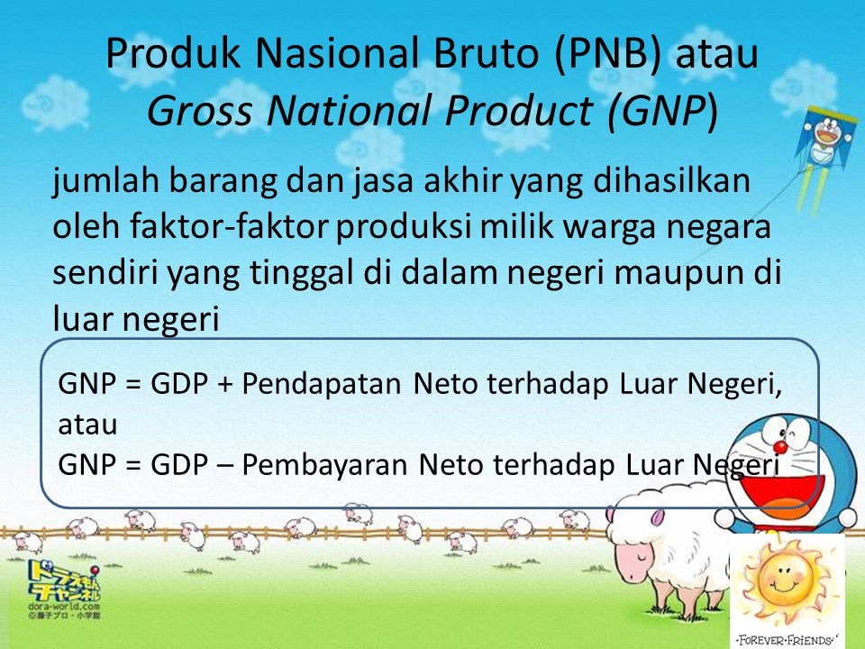 Produk Nasional Bruto (PNB) atau Gross National Product (GNP)