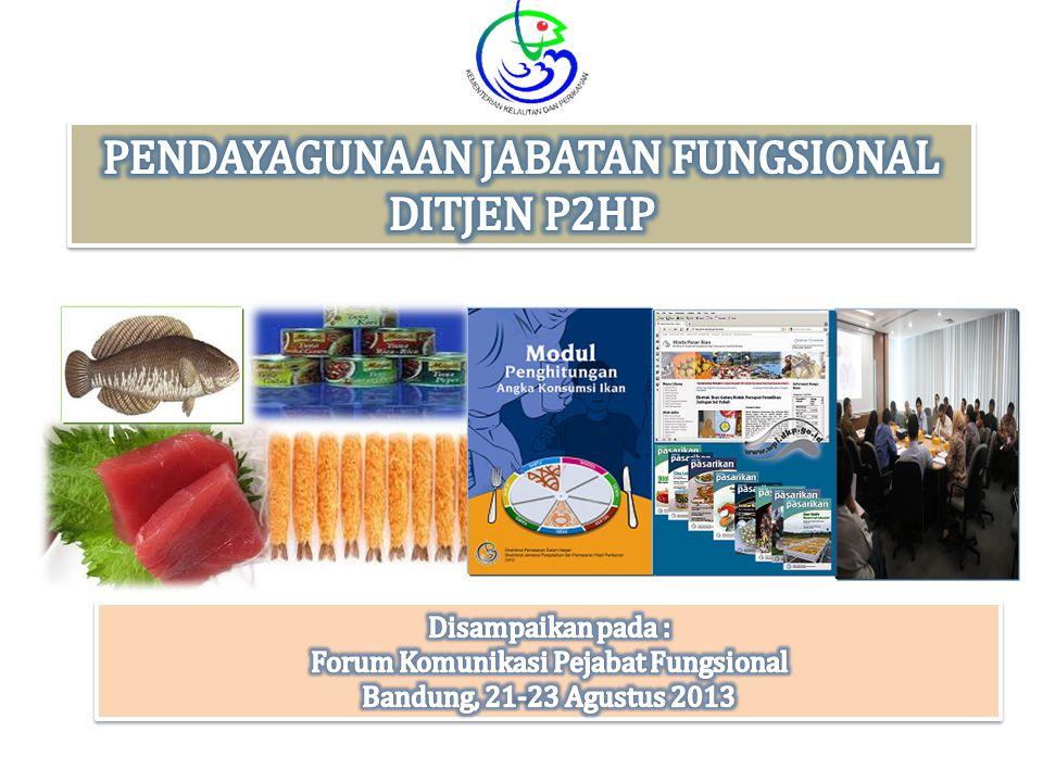 PENDAYAGUNAAN JABATAN FUNGSIONAL DITJEN P2HP