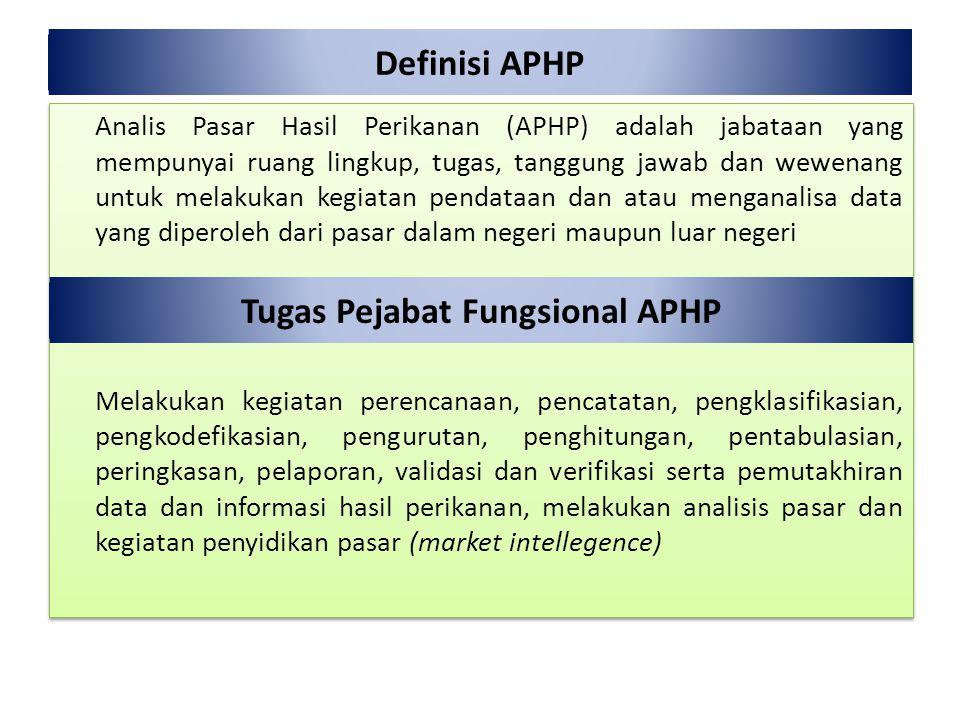 Tugas Pejabat Fungsional APHP