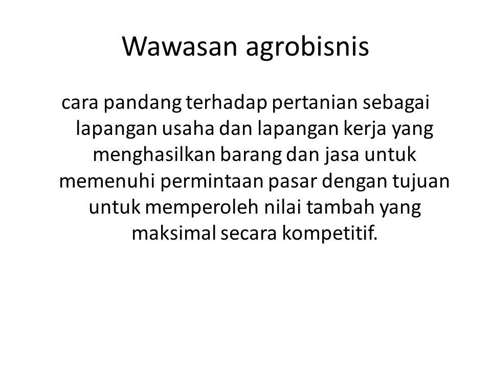 Wawasan agrobisnis