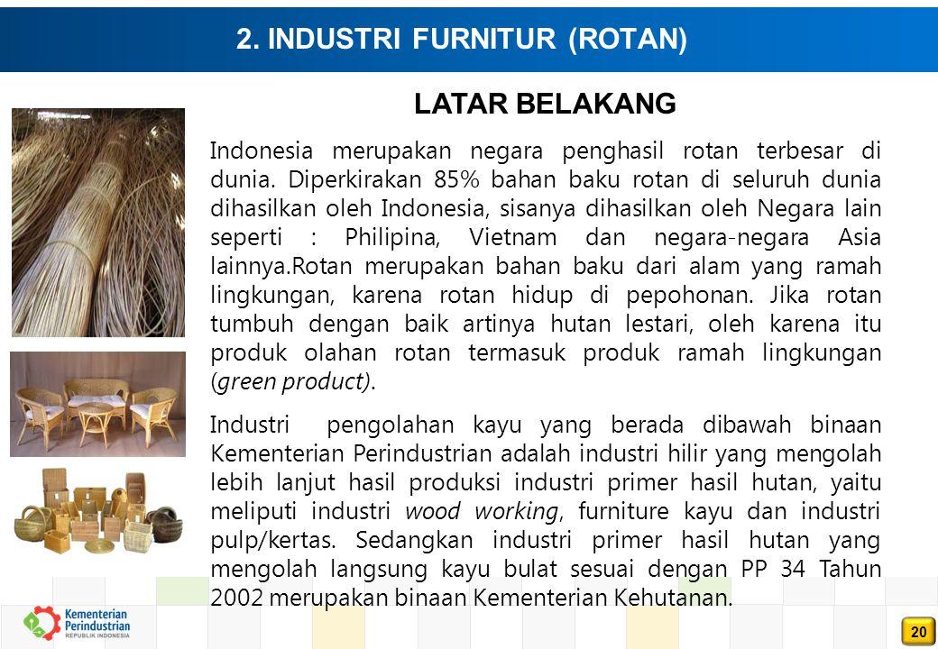 2. INDUSTRI FURNITUR (ROTAN)