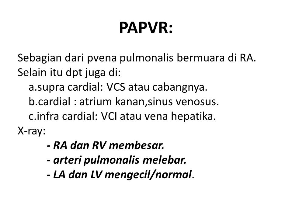 PAPVR: