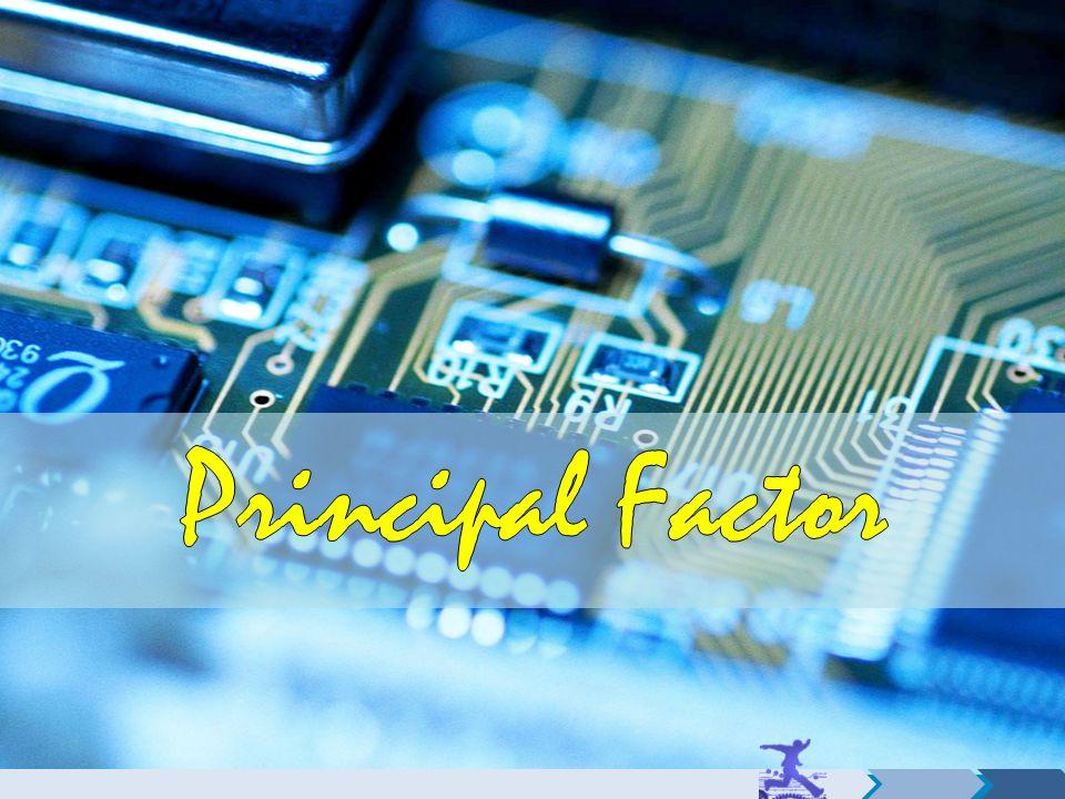 Principal Factor
