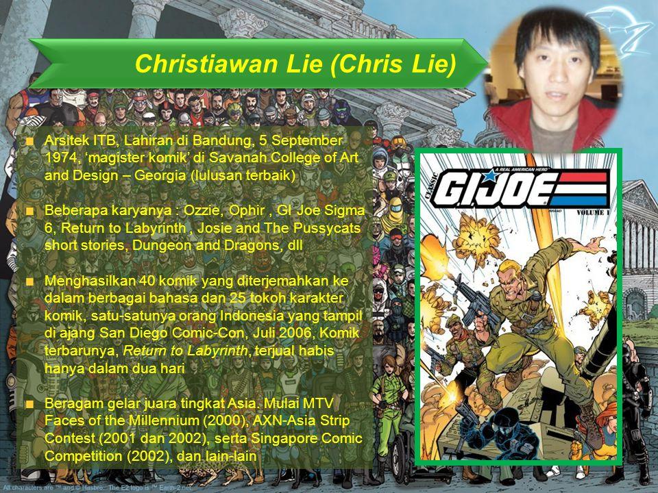 Christiawan Lie (Chris Lie)