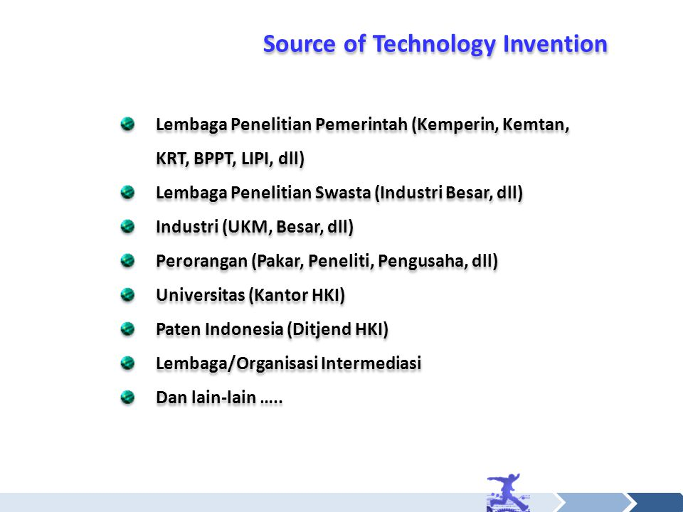 Source of Technology Invention