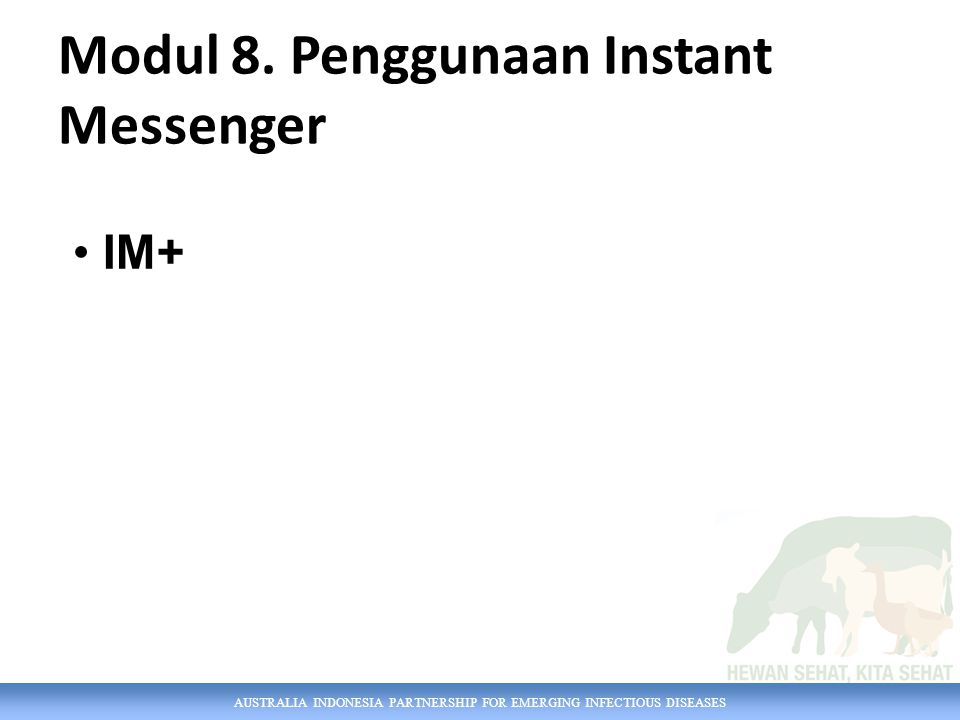 Modul 8. Penggunaan Instant Messenger
