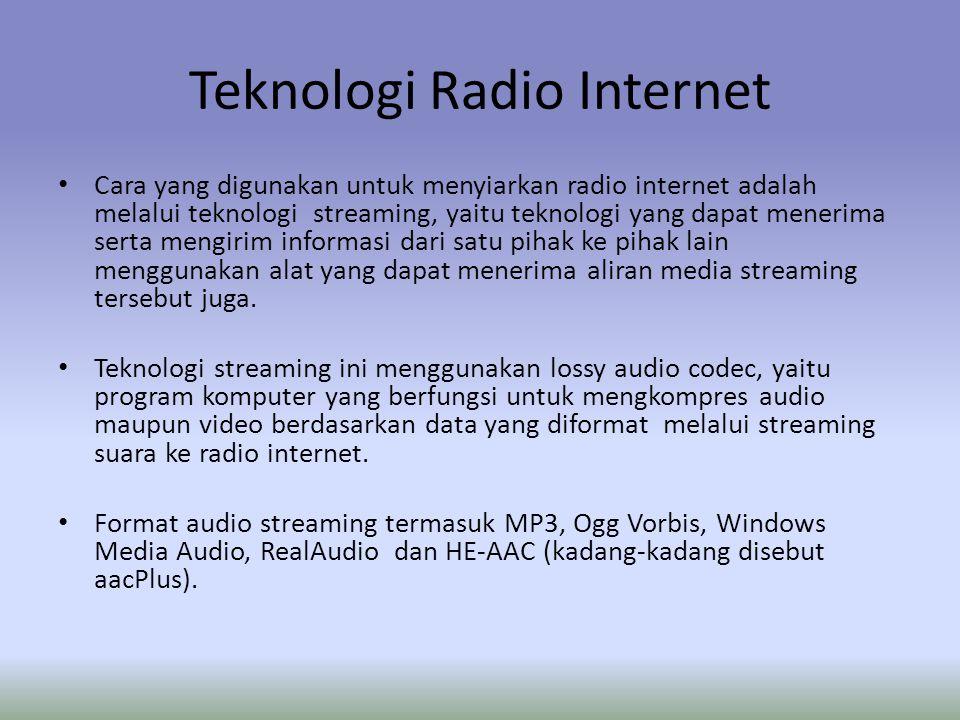 Teknologi Radio Internet