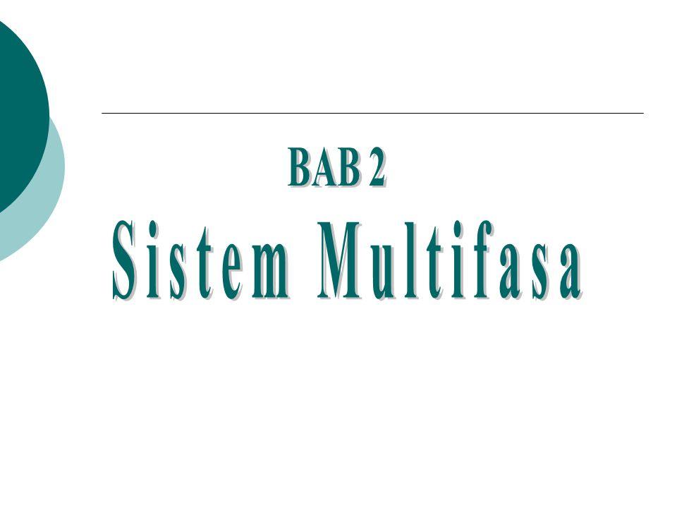 BAB 2 Sistem Multifasa