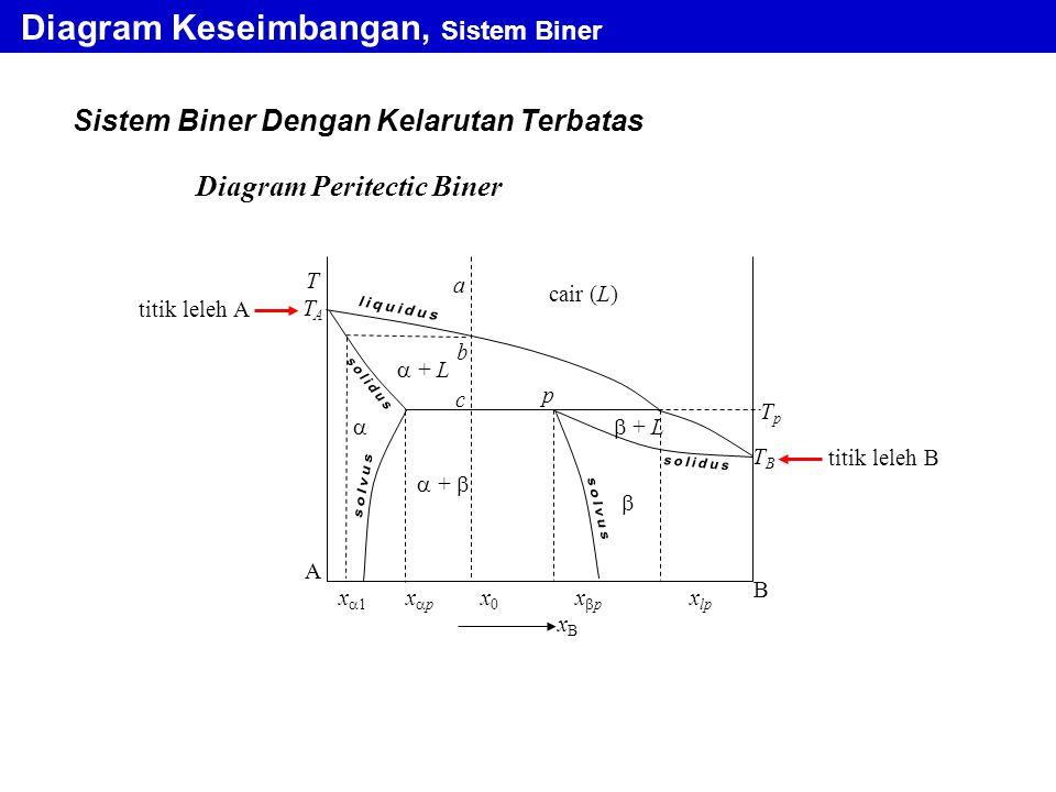 Diagram Keseimbangan, Sistem Biner
