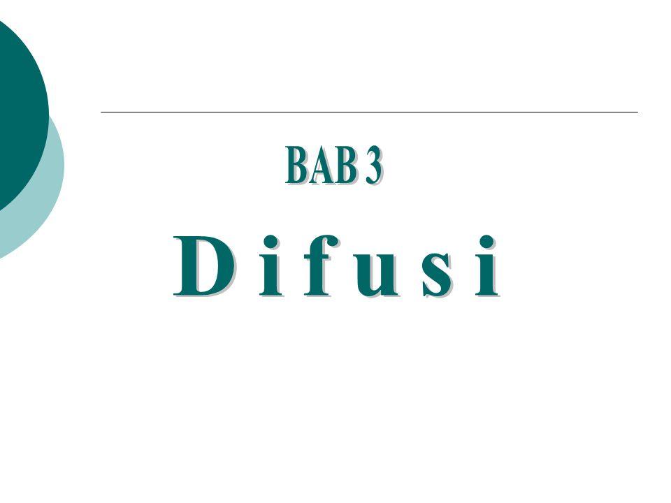 BAB 3 Difusi