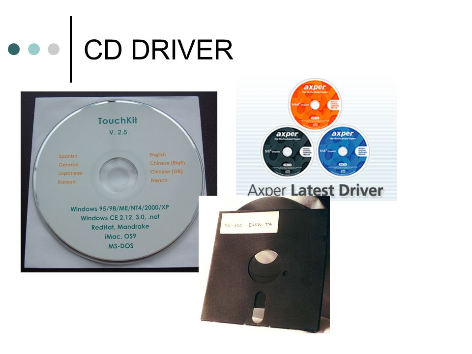 CD DRIVER