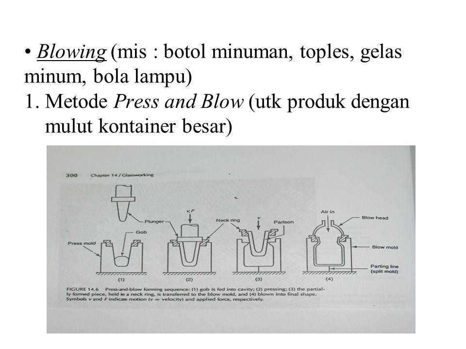 Blowing (mis : botol minuman, toples, gelas minum, bola lampu) 1