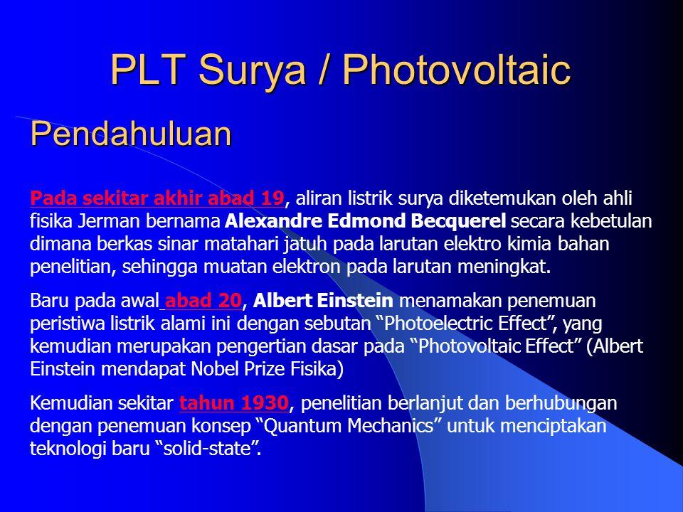 PLT Surya / Photovoltaic