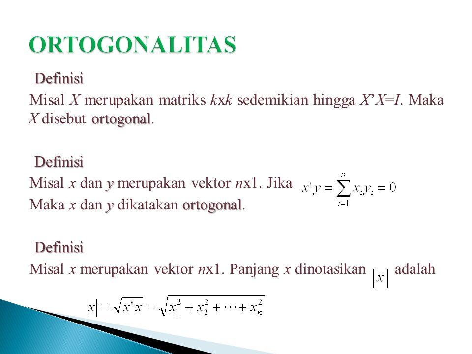ORTOGONALITAS