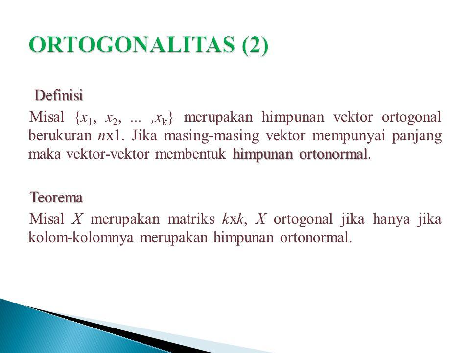ORTOGONALITAS (2)