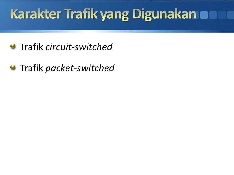 Karakter Trafik yang Digunakan