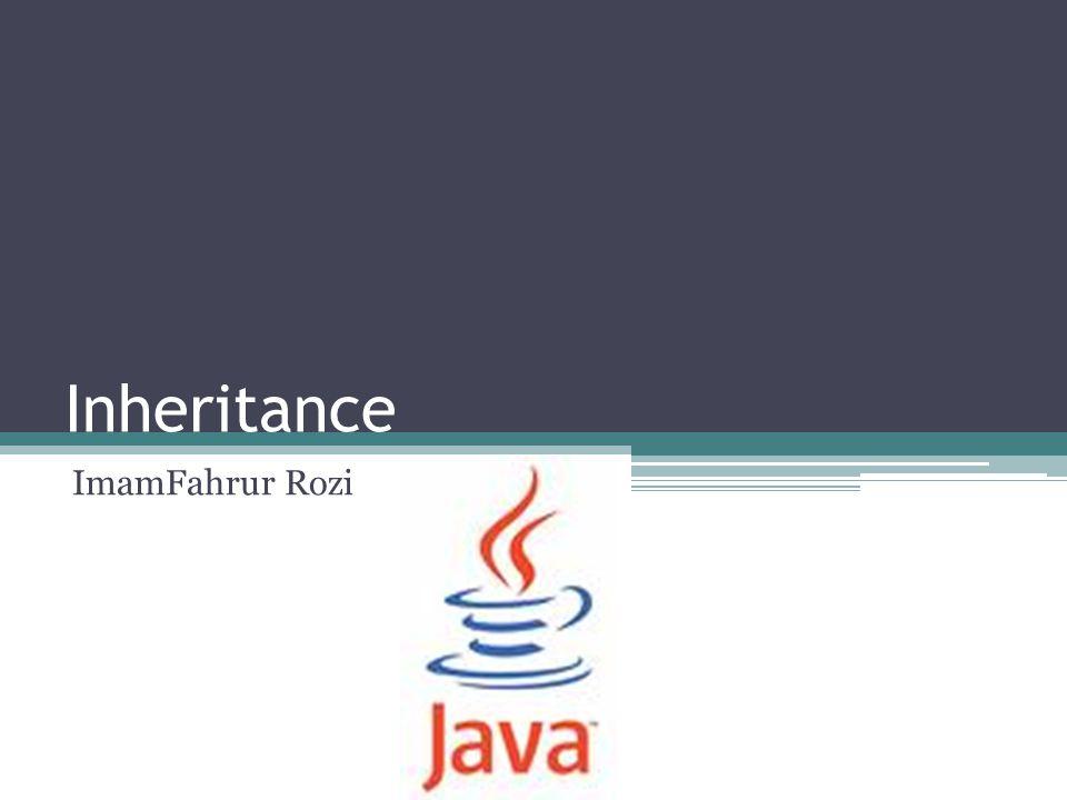 Inheritance ImamFahrur Rozi