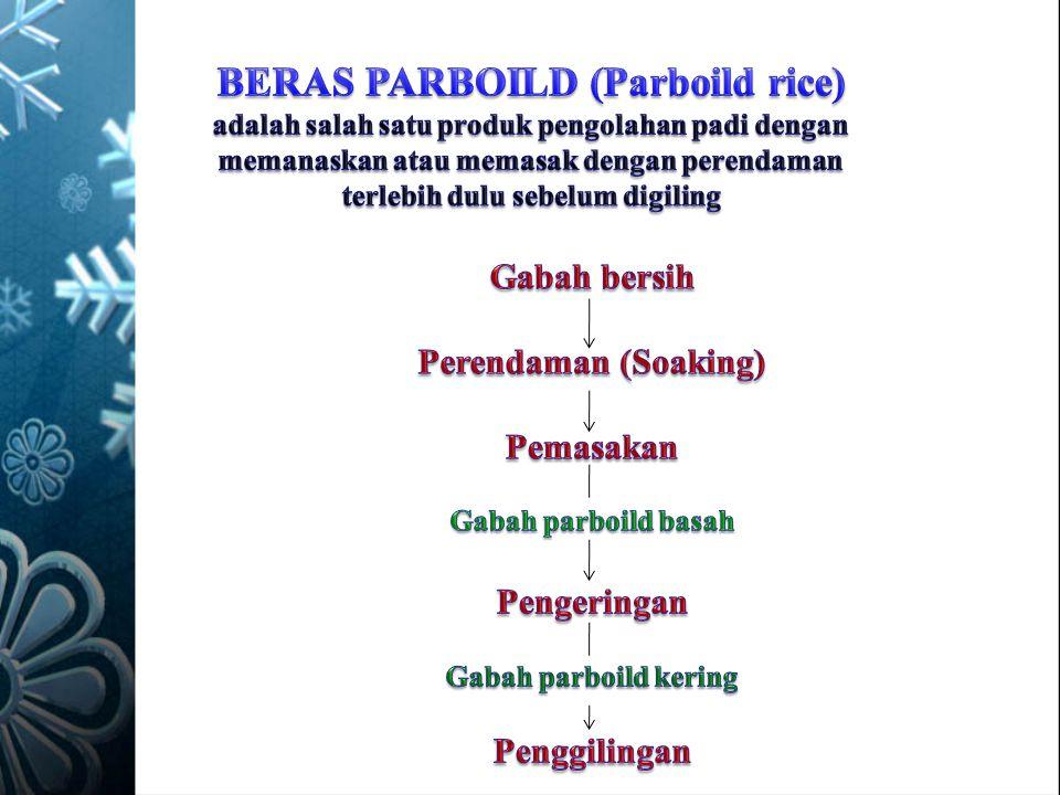 BERAS PARBOILD (Parboild rice)