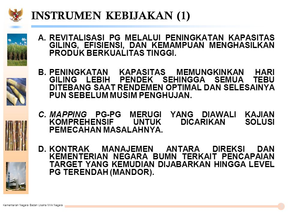INSTRUMEN KEBIJAKAN (1)