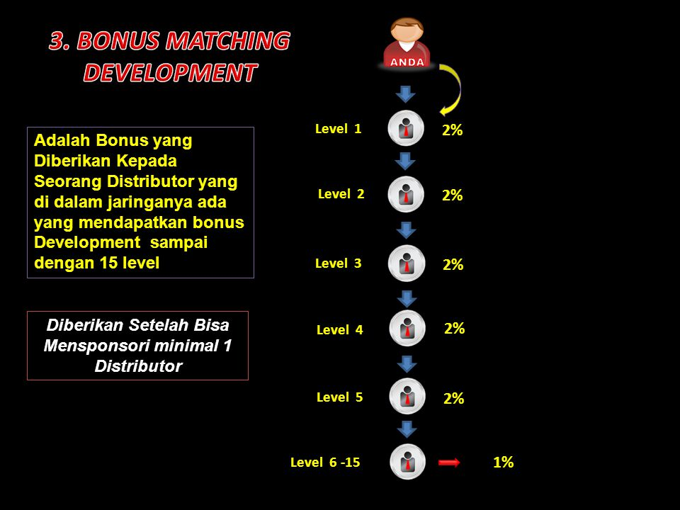 3. BONUS MATCHING DEVELOPMENT