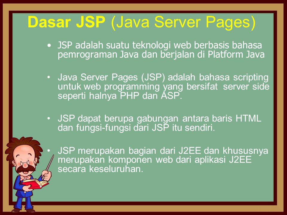 Dasar JSP (Java Server Pages)