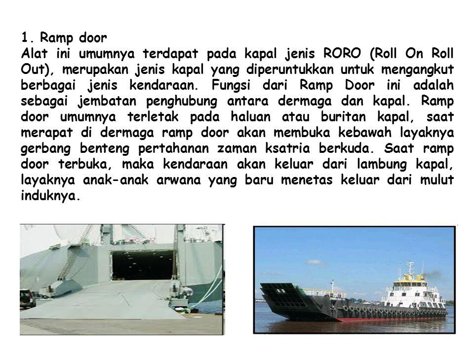 1. Ramp door