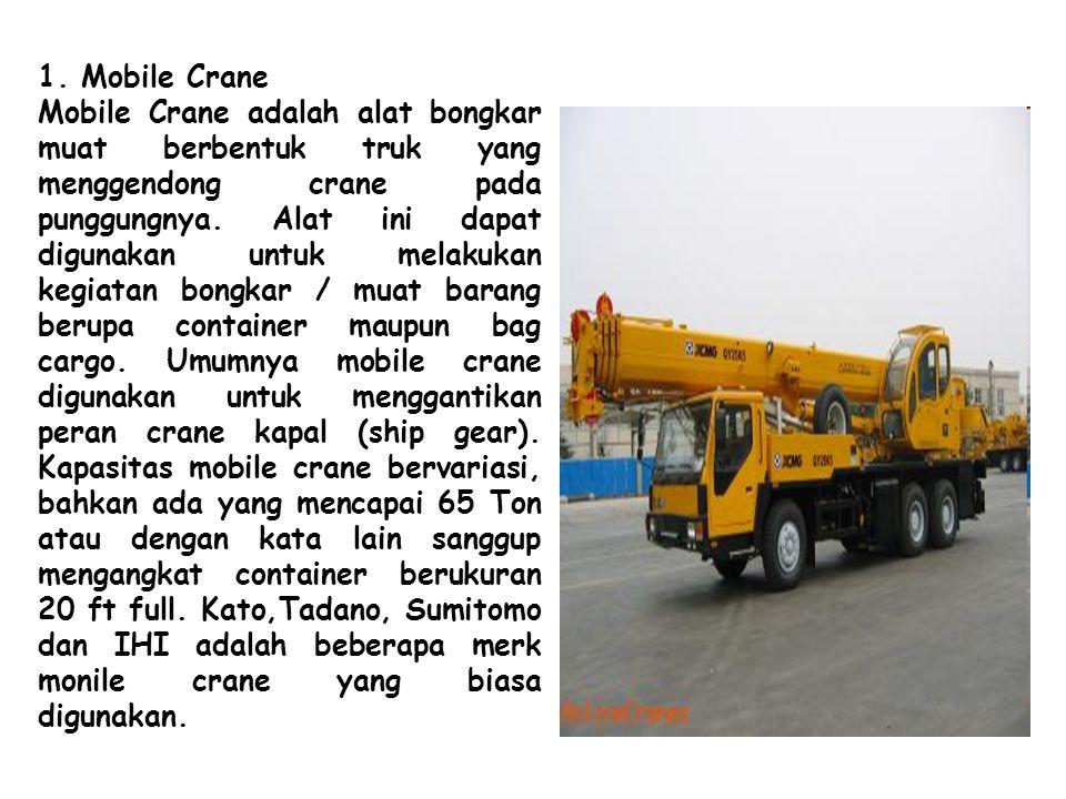 1. Mobile Crane