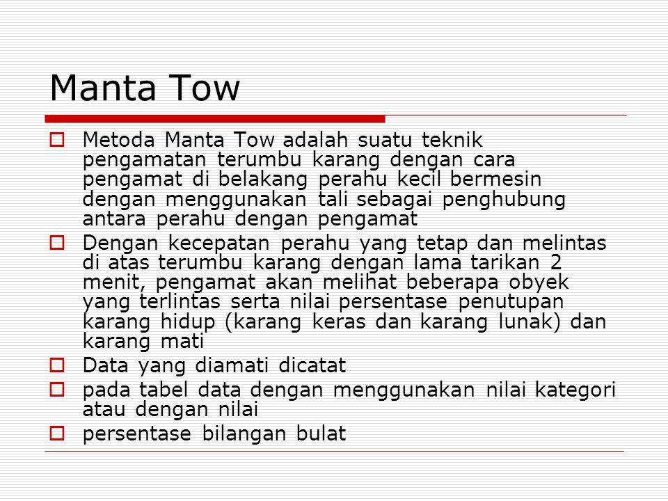 Manta Tow