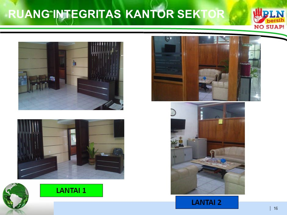 VISUAL MANAGEMENT LANTAI 1 LANTAI 2