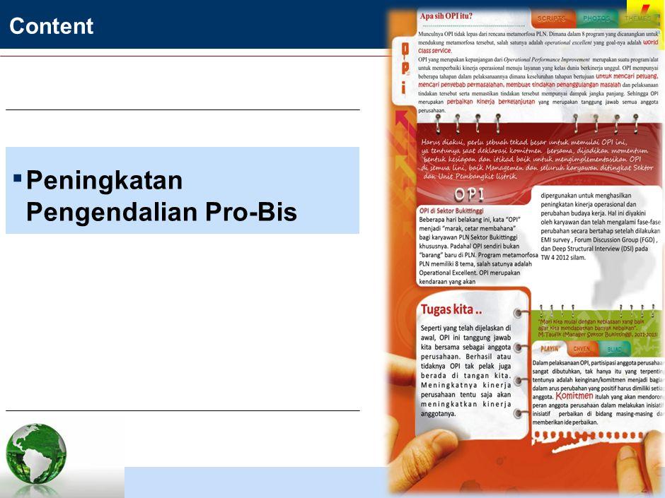 PENGENDALIAN O/M (OPERATIONAL & MAINTENANCE) PLTA