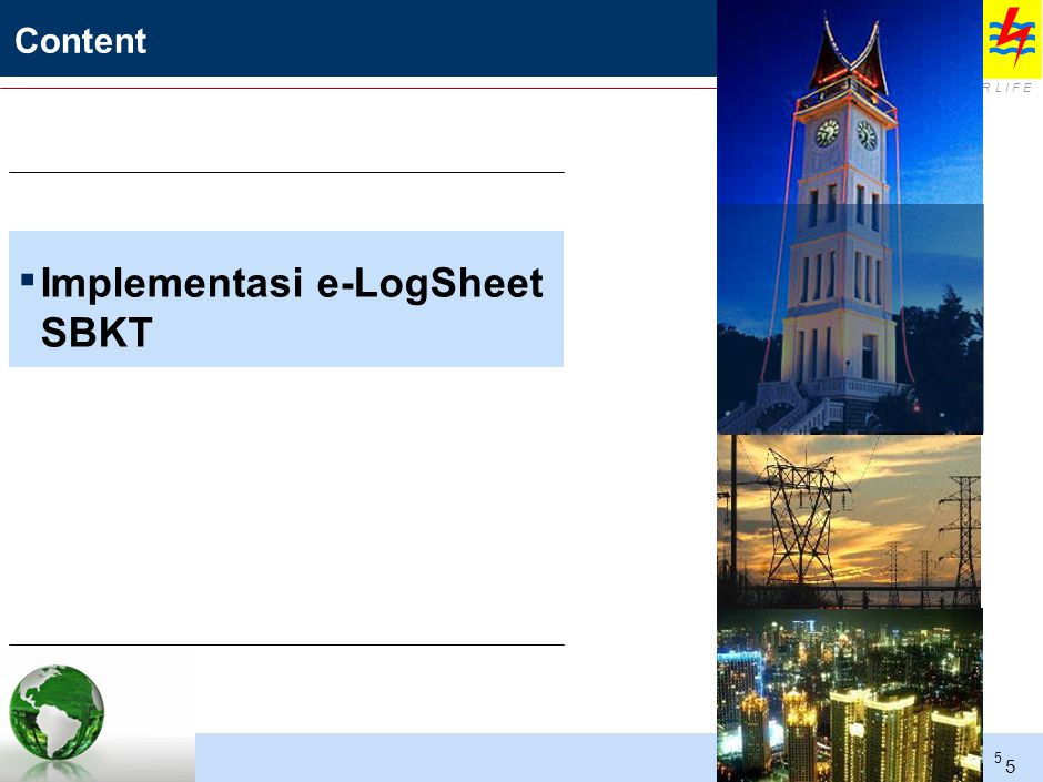 IMPLEMENTASI e-LOGSHEET