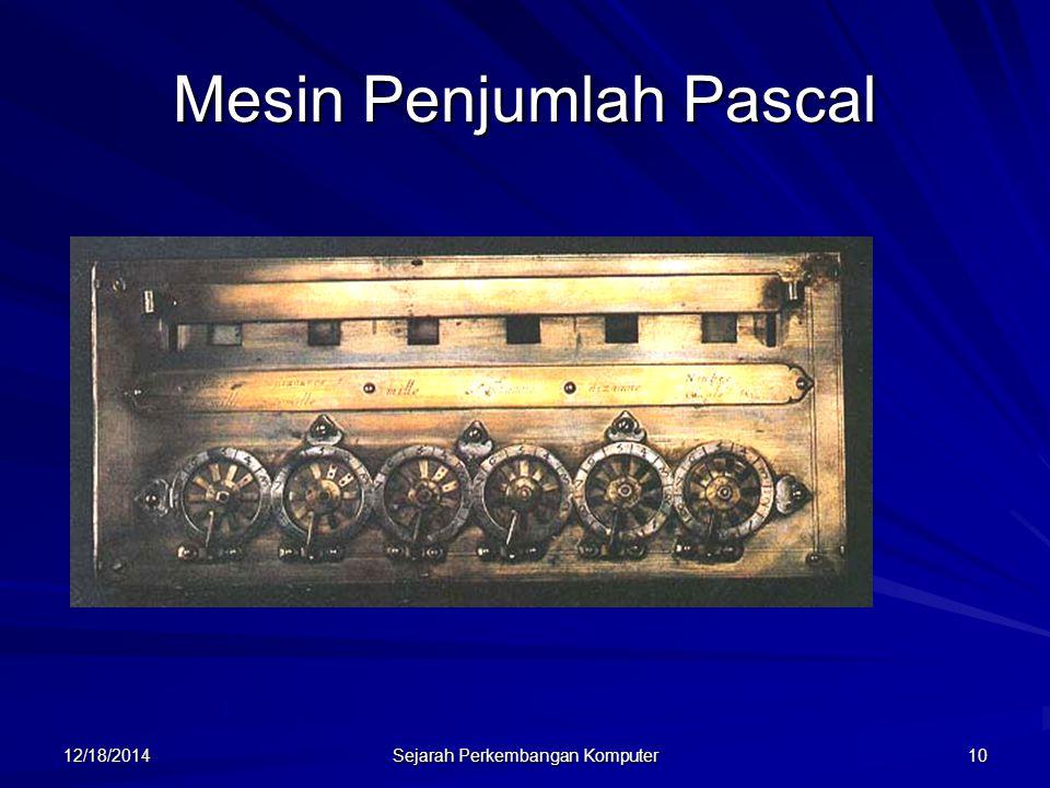 Mesin Penjumlah Pascal
