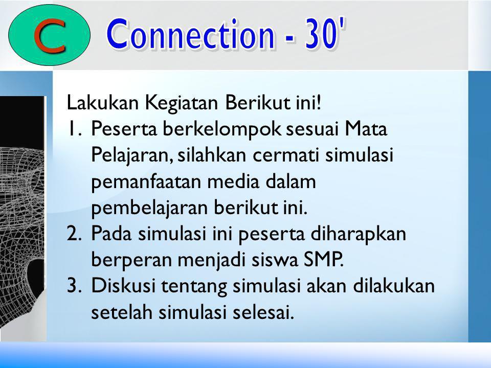 C Connection - 30 Lakukan Kegiatan Berikut ini!