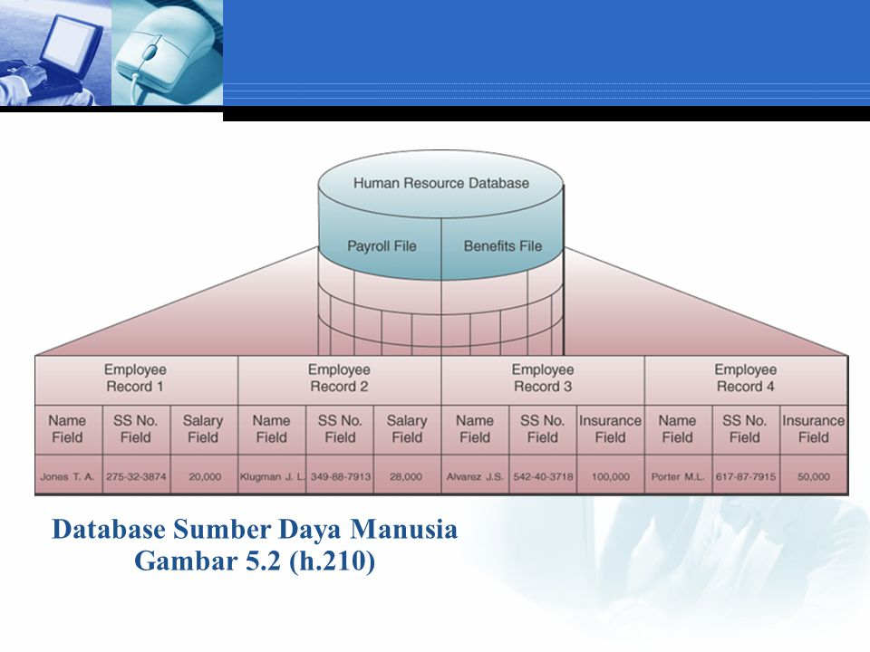 Database Sumber Daya Manusia