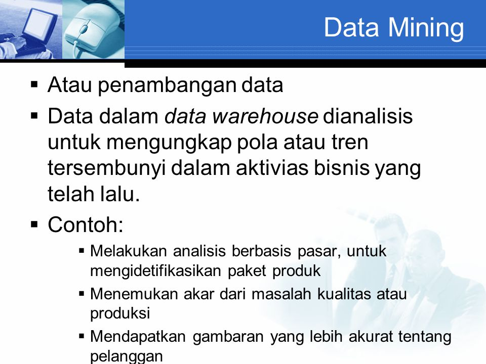 Data Mining Atau penambangan data