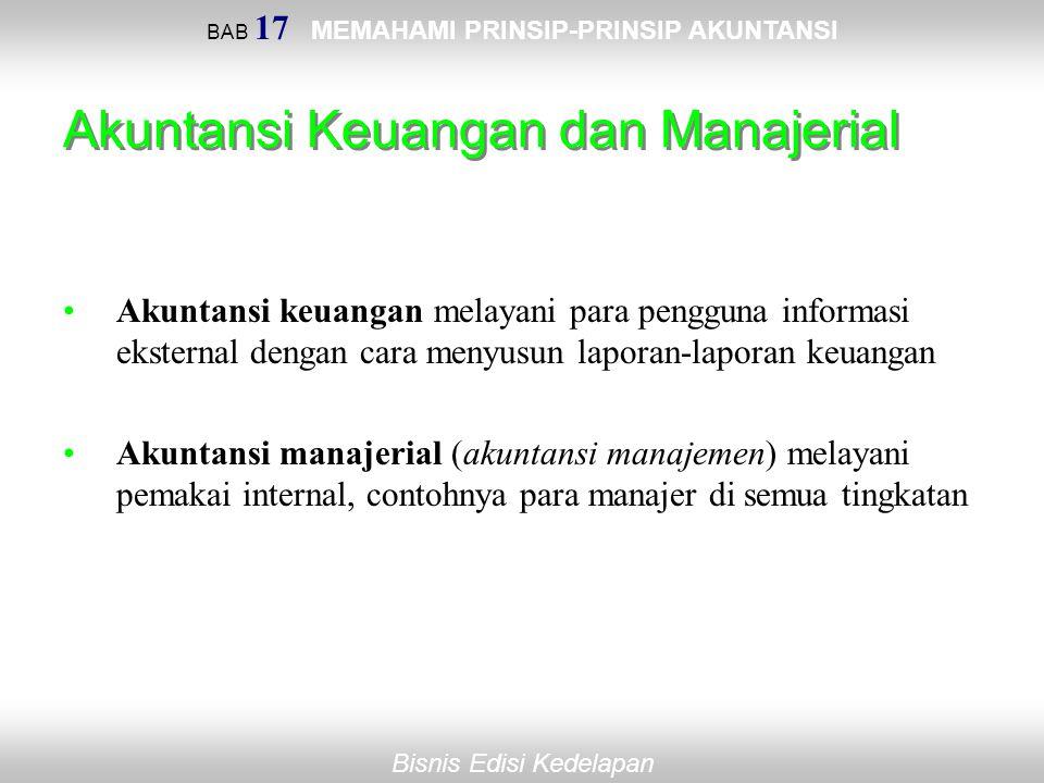 Akuntansi Keuangan dan Manajerial