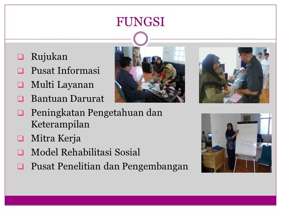 FUNGSI Rujukan Pusat Informasi Multi Layanan Bantuan Darurat