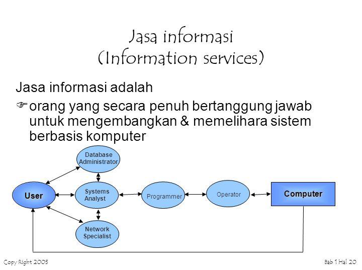 Jasa informasi (Information services)