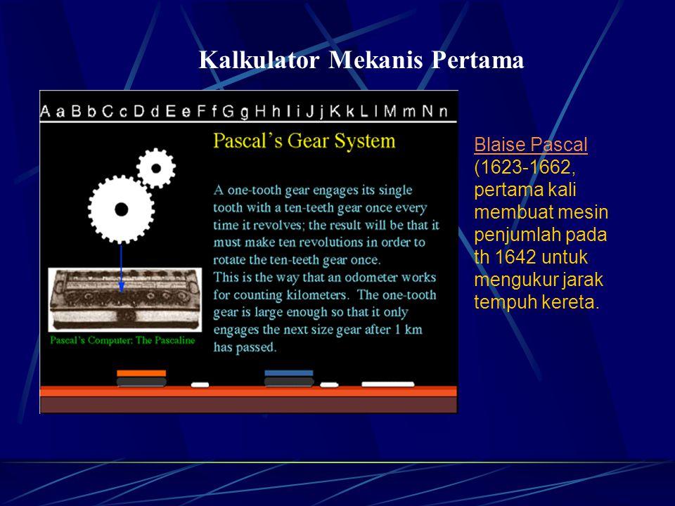 Kalkulator Mekanis Pertama
