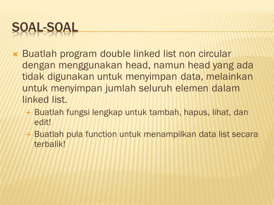 SOAL-SOAL