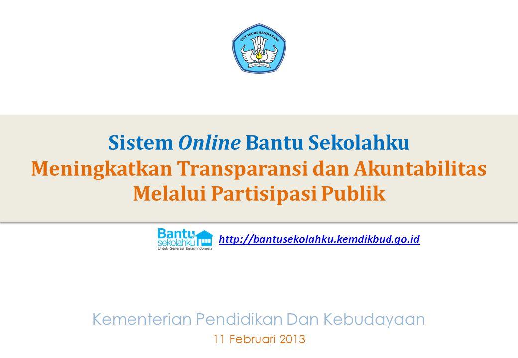 Sistem Online Bantu Sekolahku