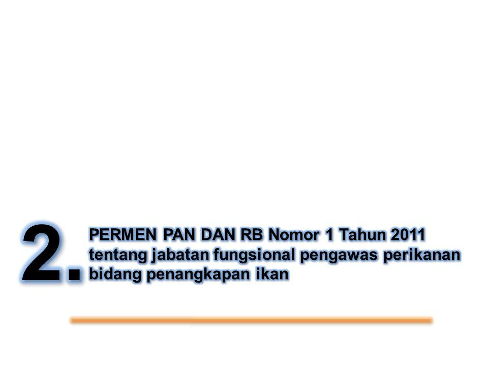 2. PERMEN PAN DAN RB Nomor 1 Tahun 2011