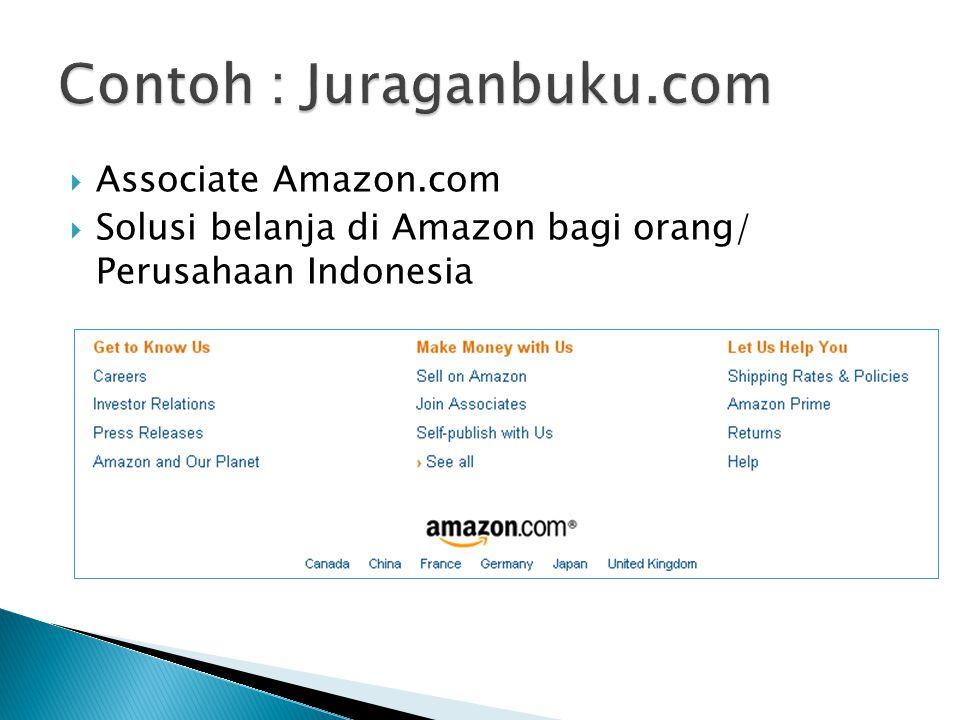 Contoh : Juraganbuku.com