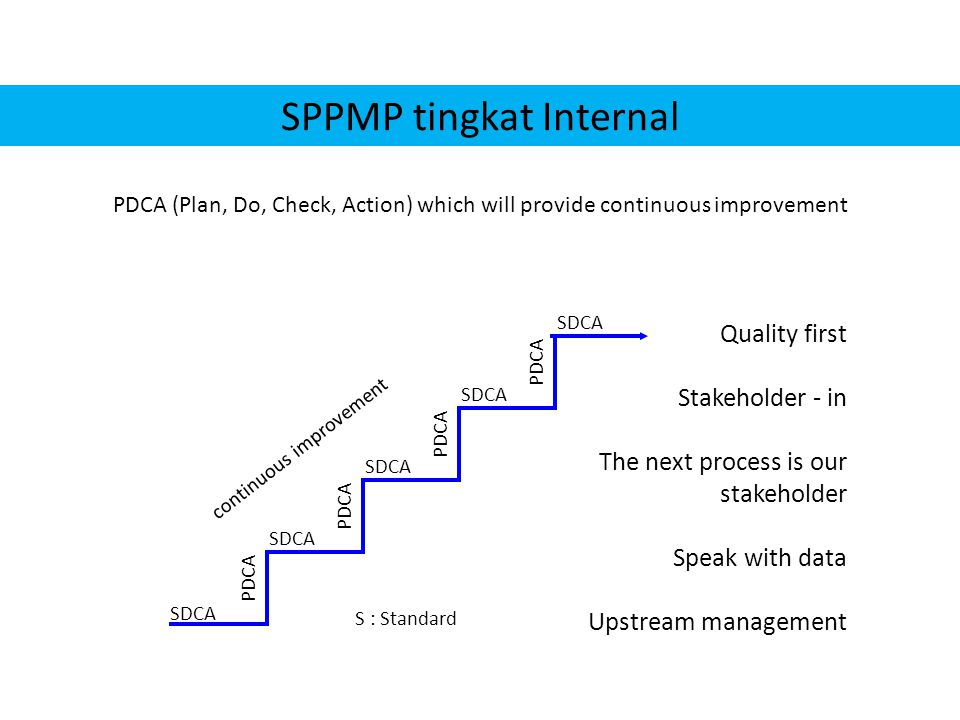 SPPMP tingkat Internal